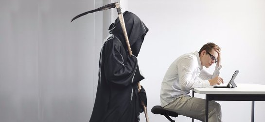 Человек, который ведет сидячий образ жизни, рискует внезапно умереть