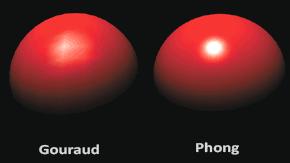 Модели освещения Фонга и Гуро