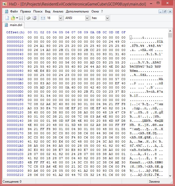 Gamecube — устройство файловой системы - 5