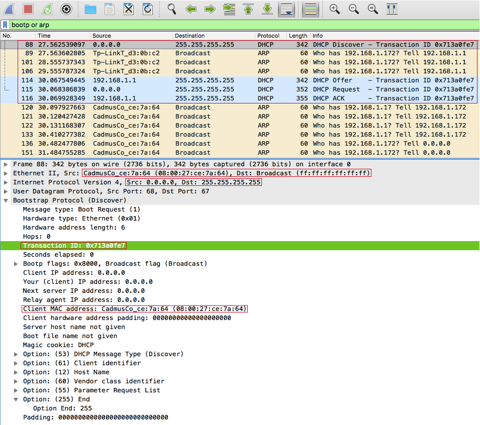 Retrieving IP address again
