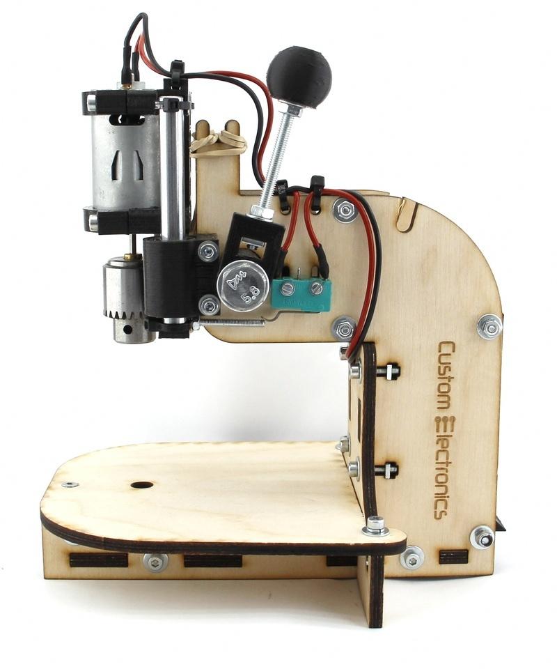 Буратор. Сверлильный станок для печатных плат - 1