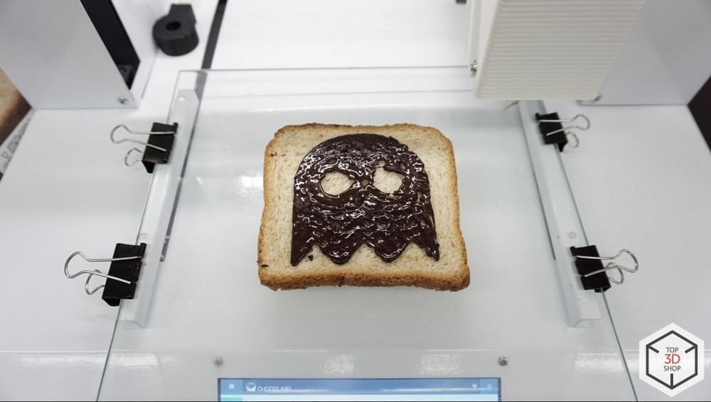 Живой обзор пищевого 3D-принтера Chocola3D - 24