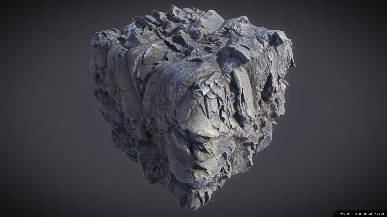 Создание камней для игр с помощью фотограмметрии - 14