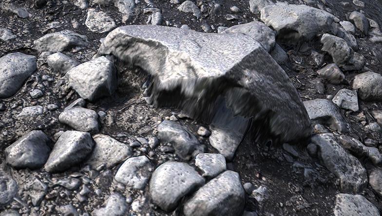 Создание камней для игр с помощью фотограмметрии - 23