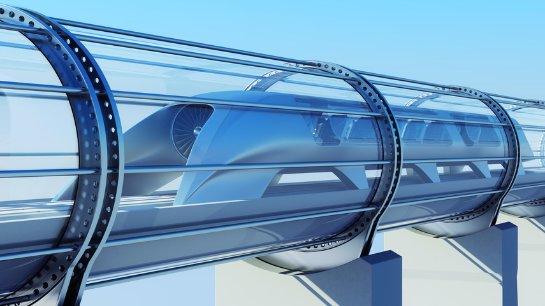 Заводы Tesla соединят вакуумным поездом