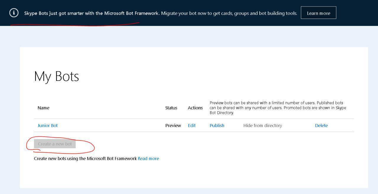 Skype-бот с человеческим лицом (на Microsoft Bot Framework V3 и Slack API) - 5