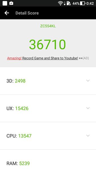 Обзор смартфона ASUS ZenFone 4 Max - 83