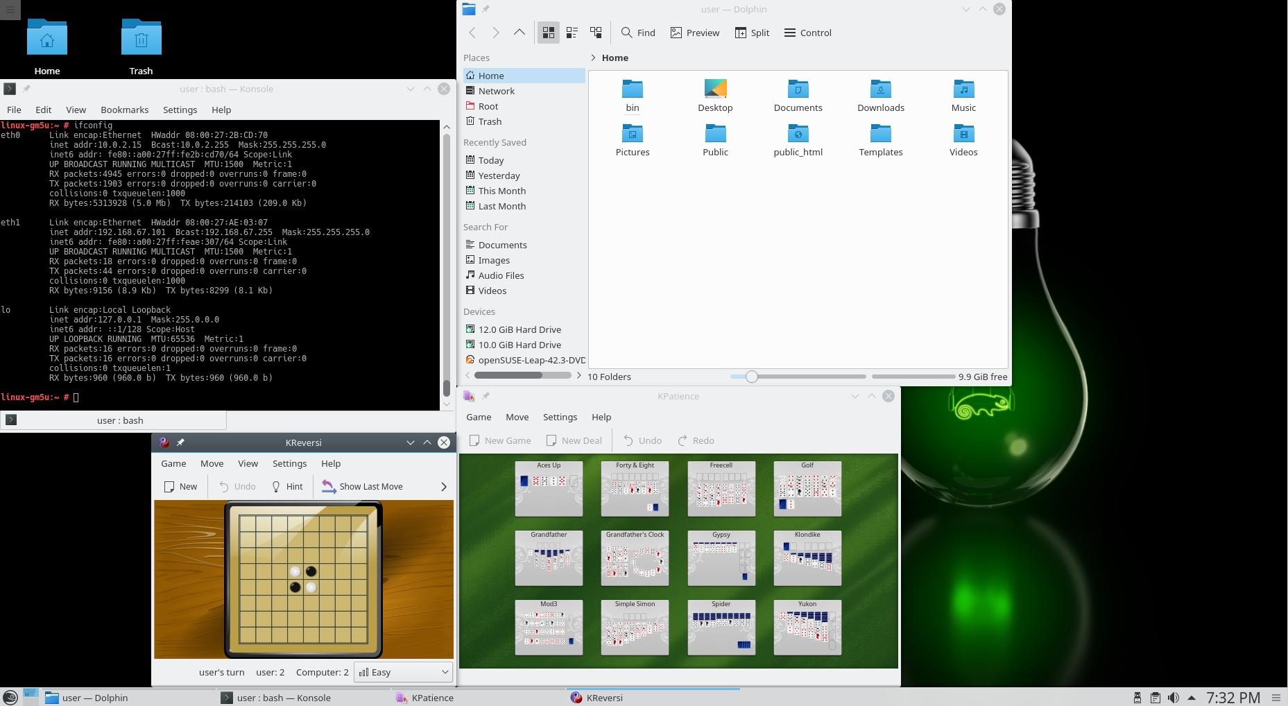 Релиз Linux-дистрибутива openSUSE 42.3 - 2