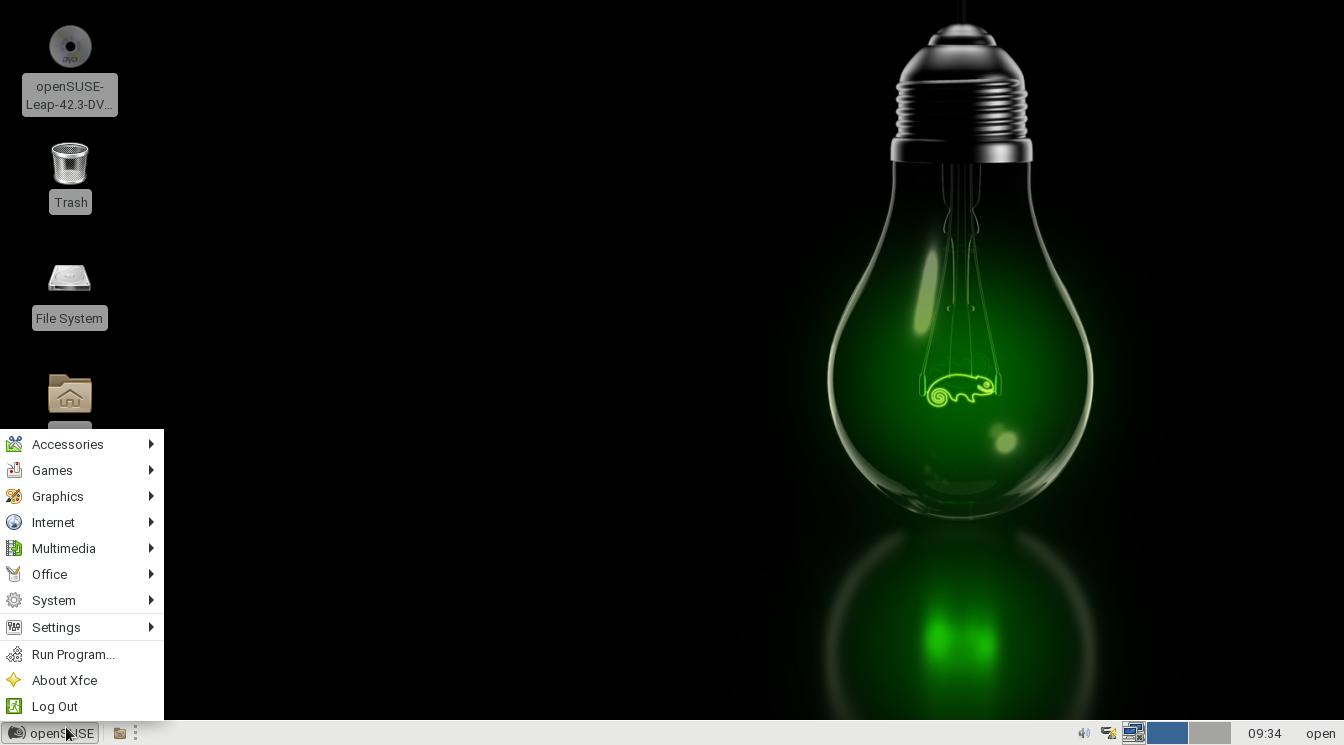 Релиз Linux-дистрибутива openSUSE 42.3 - 1