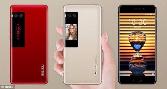 У телефона Meizu Pro 7 появился второй экран