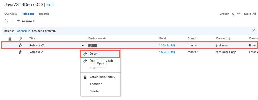 Автоматизация CI-CD для Java приложений с помощью Microsoft Visual Studio Team Services - 29