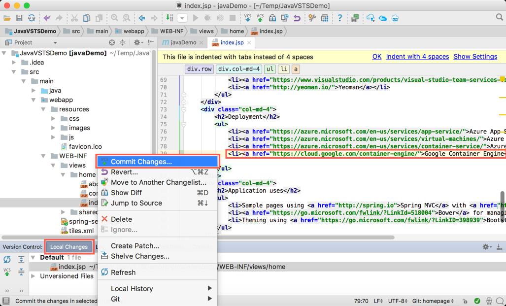 Автоматизация CI-CD для Java приложений с помощью Microsoft Visual Studio Team Services - 35