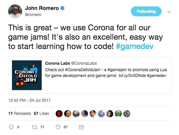Геймджем для Lua-разработчиков на движках Corona и Defold - 2