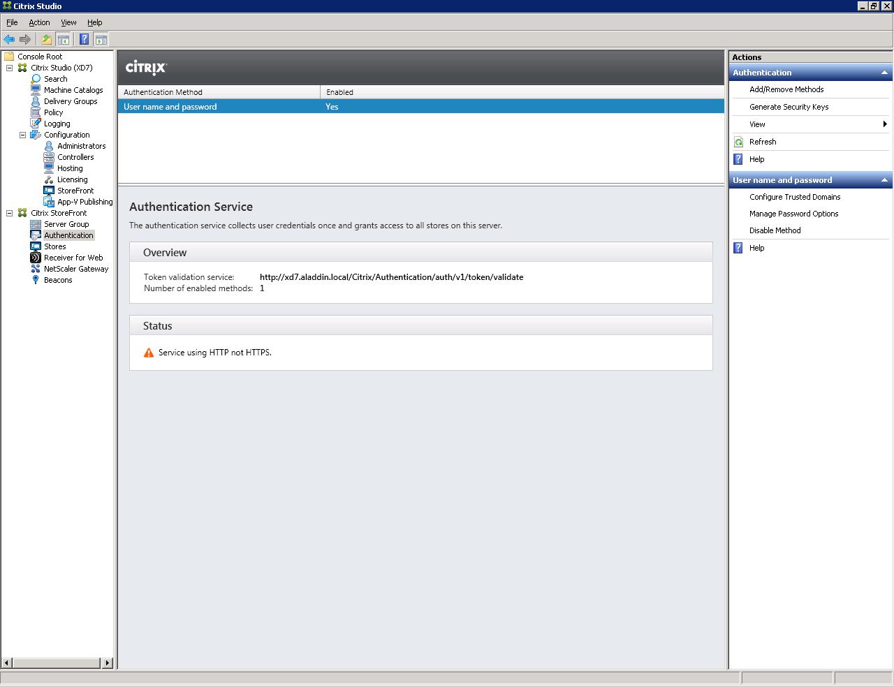 Настройка аутентификации в Citrix XenDesktop 7.x c использованием смарт-карт JaCarta PKI - 31