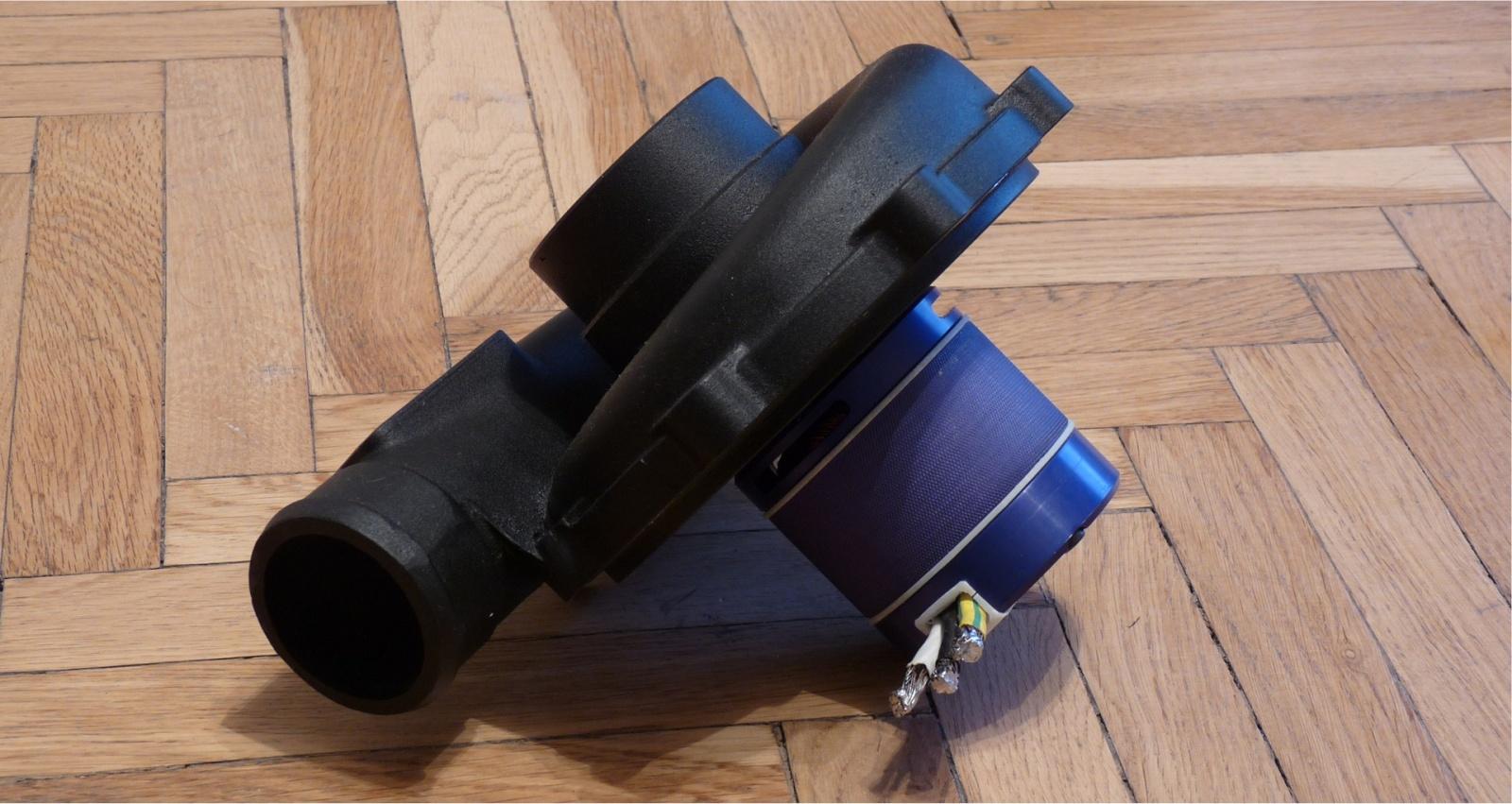 Автомобильная электротурбина - 5