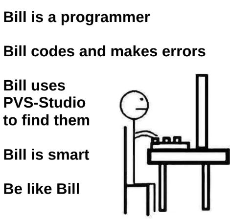 Используйте PVS-Studio