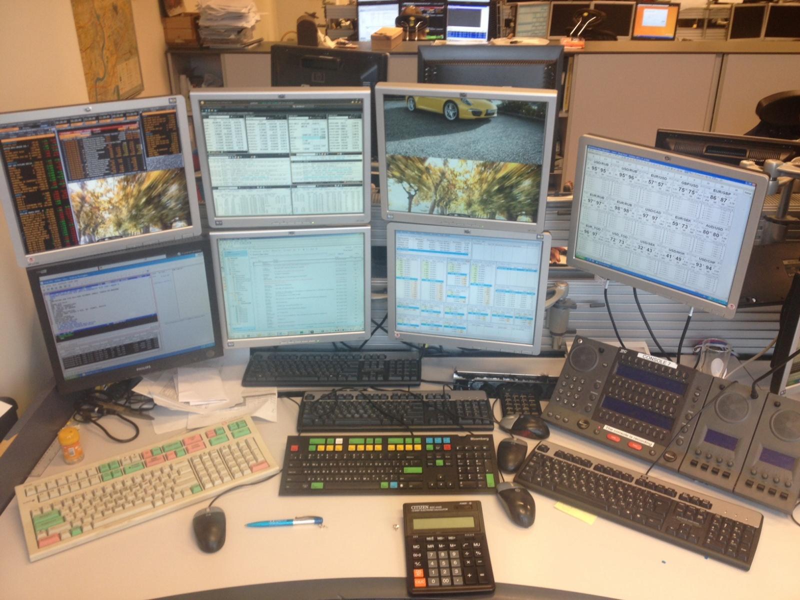 Обновление инфраструктуры рабочих мест трейдеров - 1