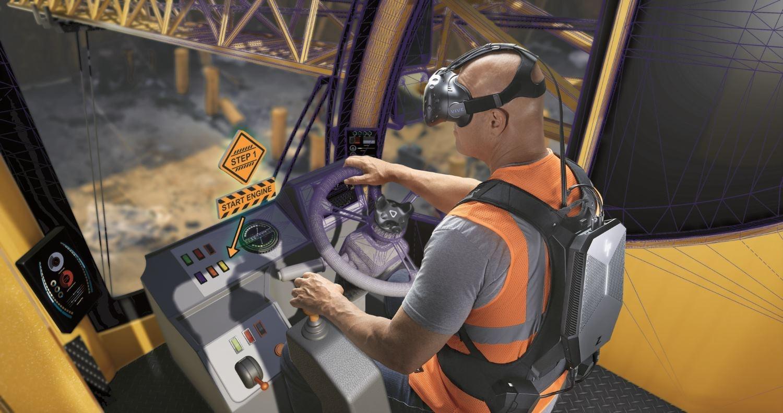 HP создала носимую VR-систему для обучения людей в виртуальной реальности - 1