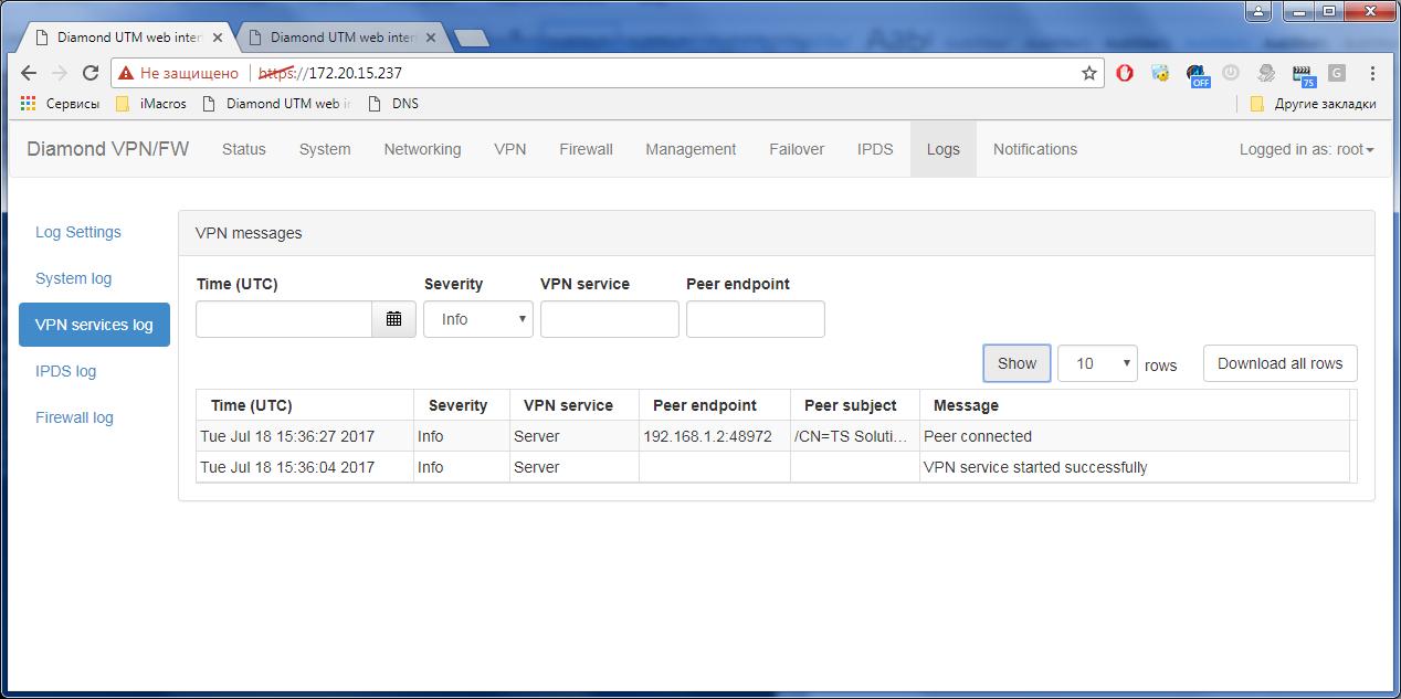 Гигабитный ГОСТ VPN. TSS Diamond - 15