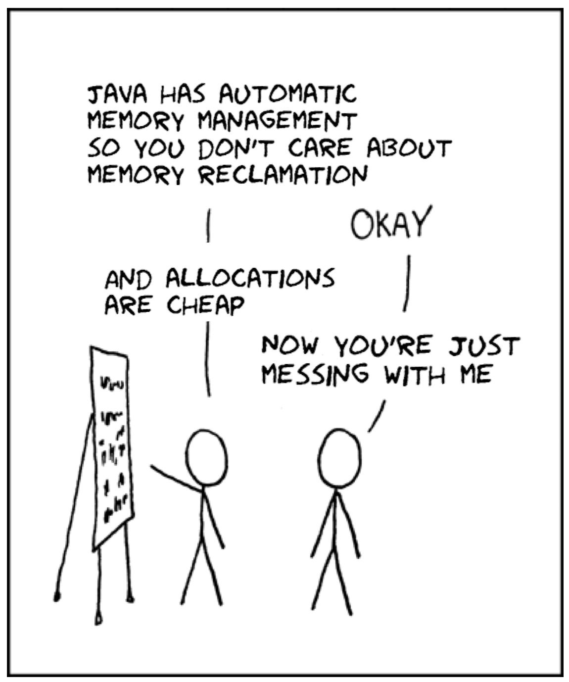 Как JVM аллоцирует объекты? - 1