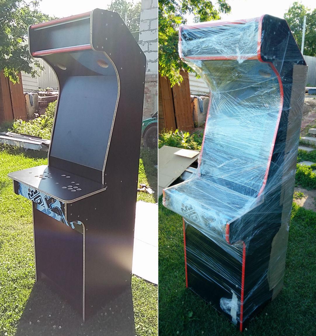 Контра, Батлтодс и Мортал Комбат в одной коробке. История о том, как я сделал игровой автомат и поставил его в офисе - 6