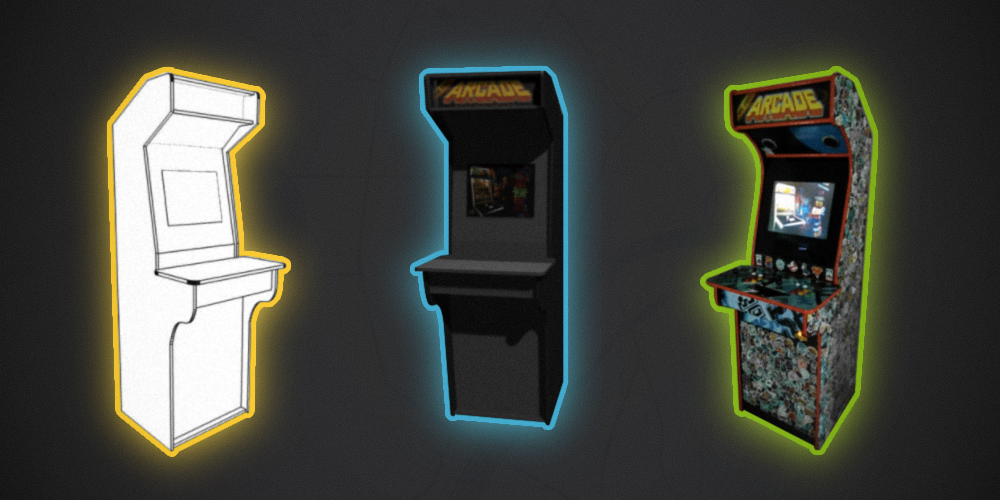 Контра, Батлтодс и Мортал Комбат в одной коробке. История о том, как я сделал игровой автомат и поставил его в офисе - 1