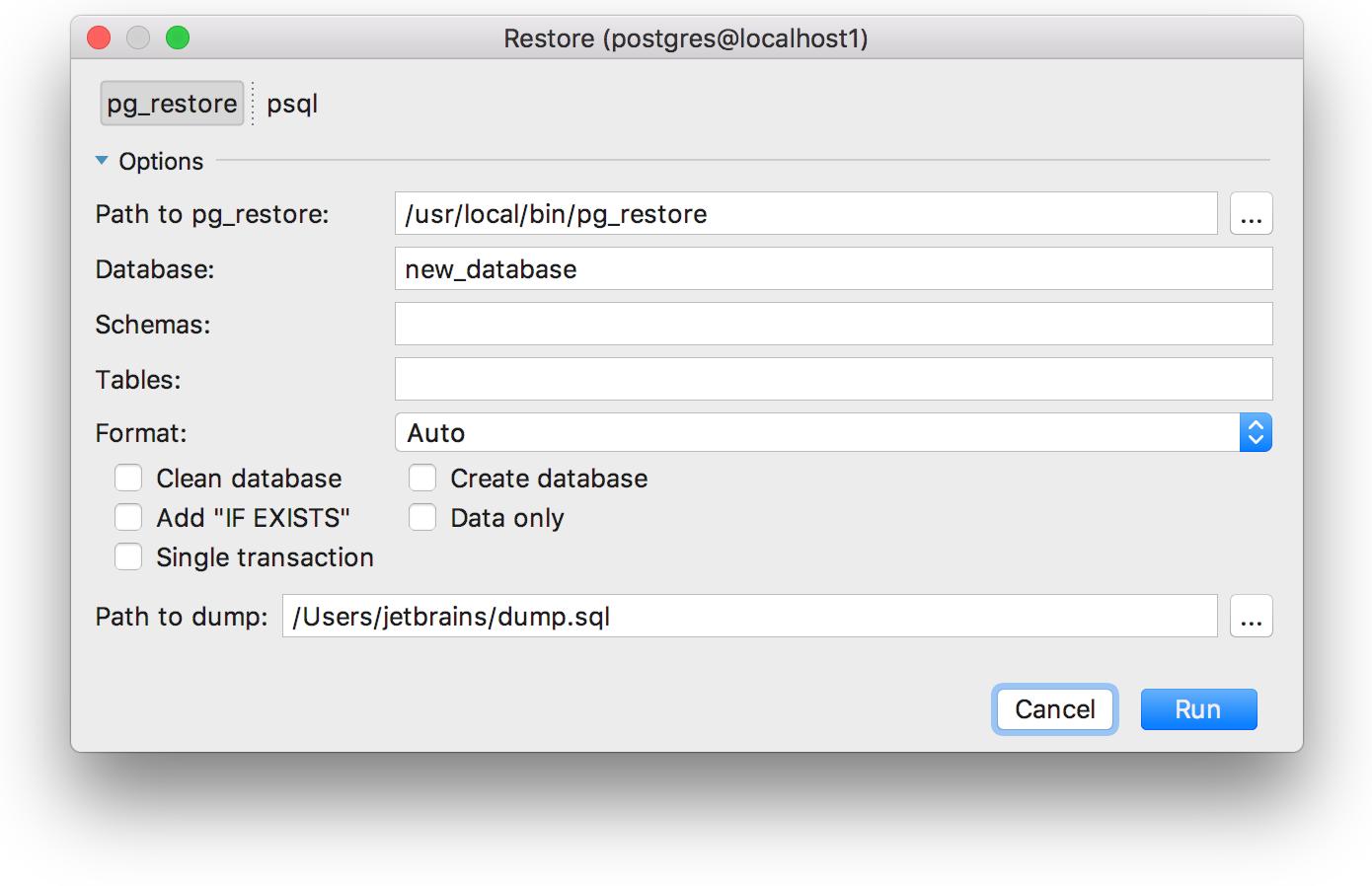 DataGrip 2017.2: Поддержка Redshift и Azure, несколько баз в PostgreSQL, контроль транзакций и другое - 18