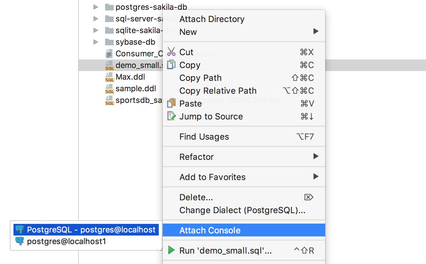 DataGrip 2017.2: Поддержка Redshift и Azure, несколько баз в PostgreSQL, контроль транзакций и другое - 20
