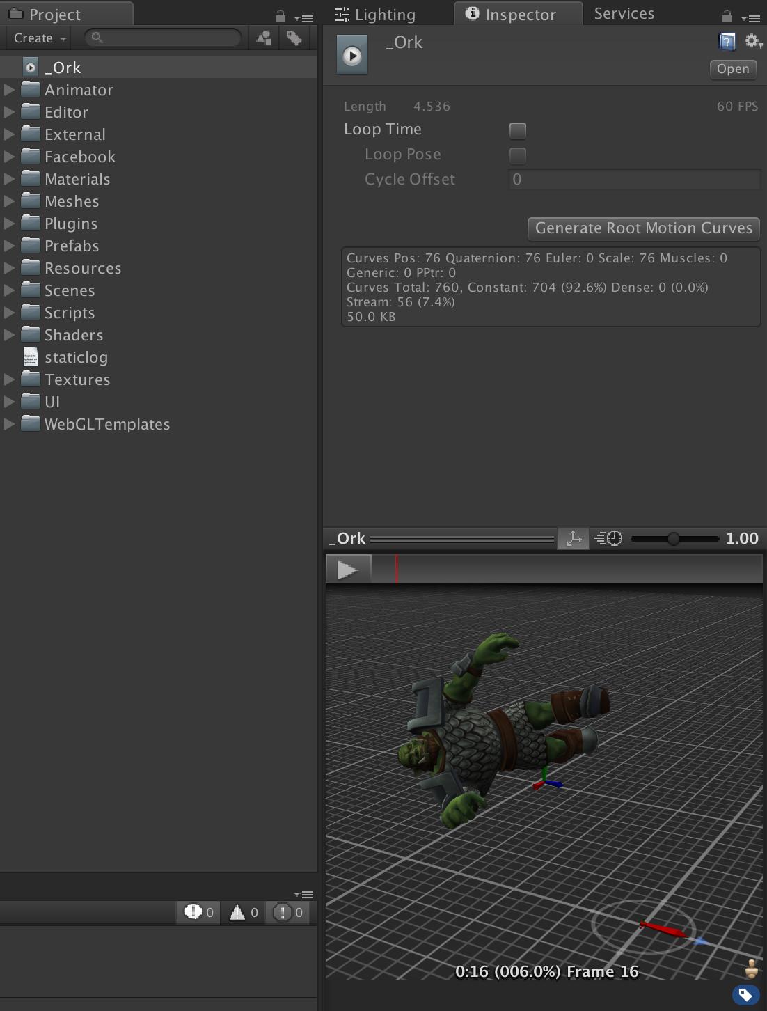 Как мы оптимизировали Ragdoll анимацию смерти в Unity - 5