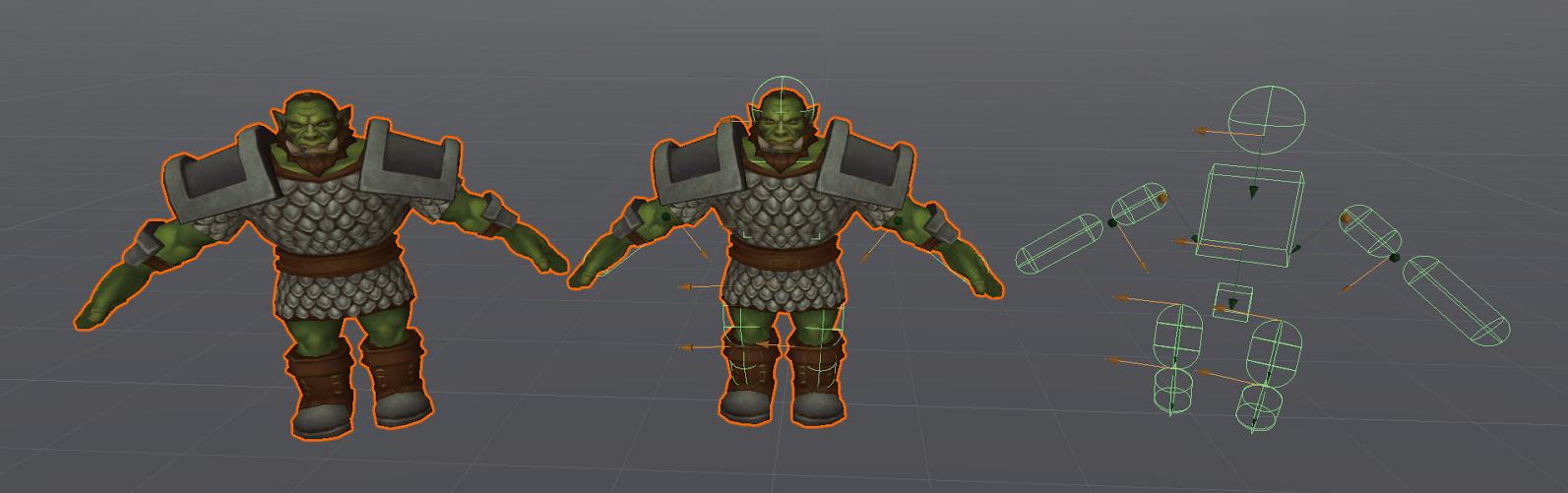 Как мы оптимизировали Ragdoll анимацию смерти в Unity - 1