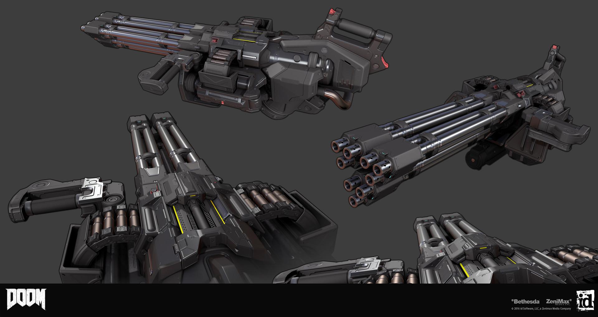 Как создавались пушки для Doom - 3