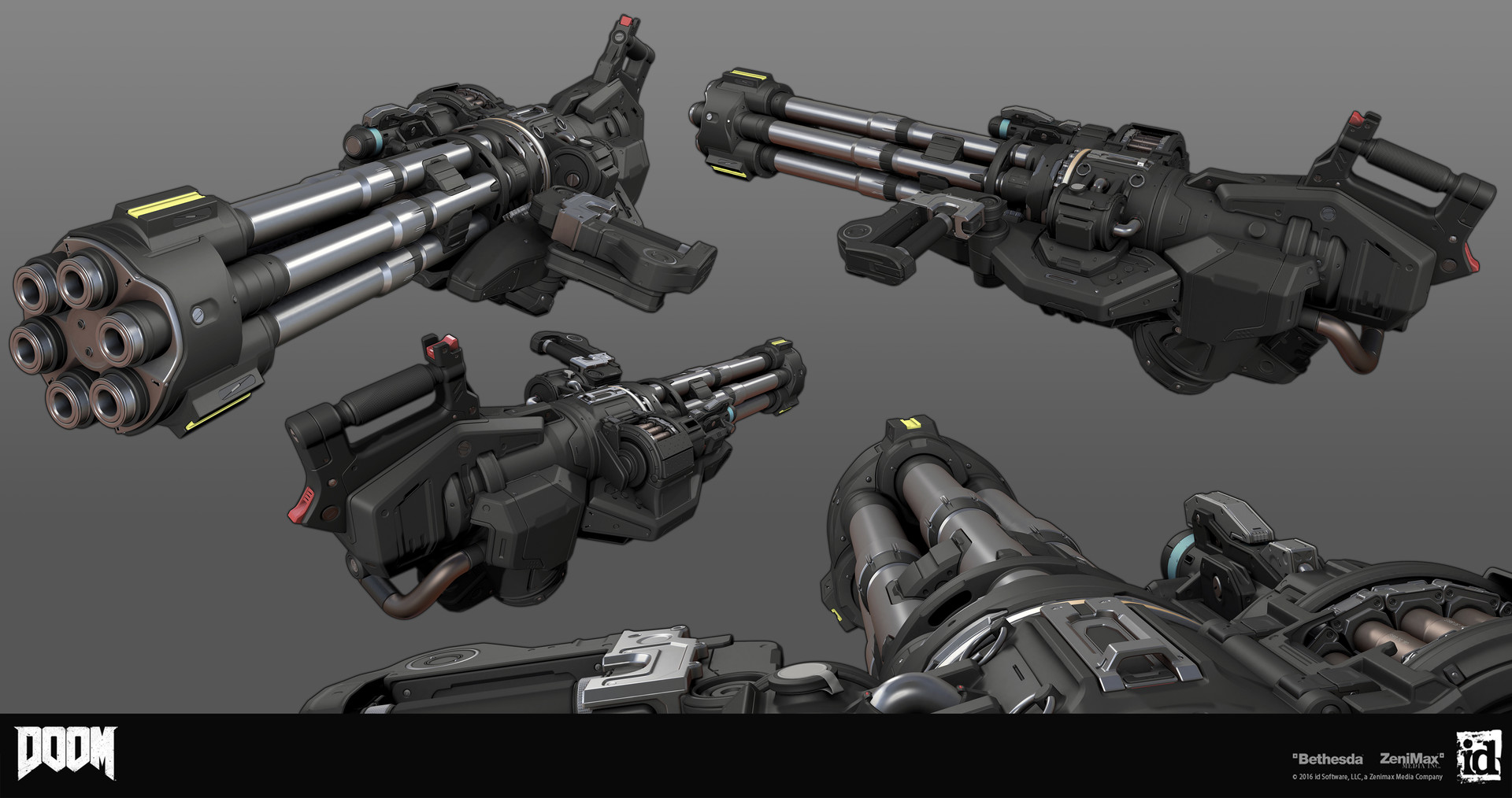 Как создавались пушки для Doom - 4