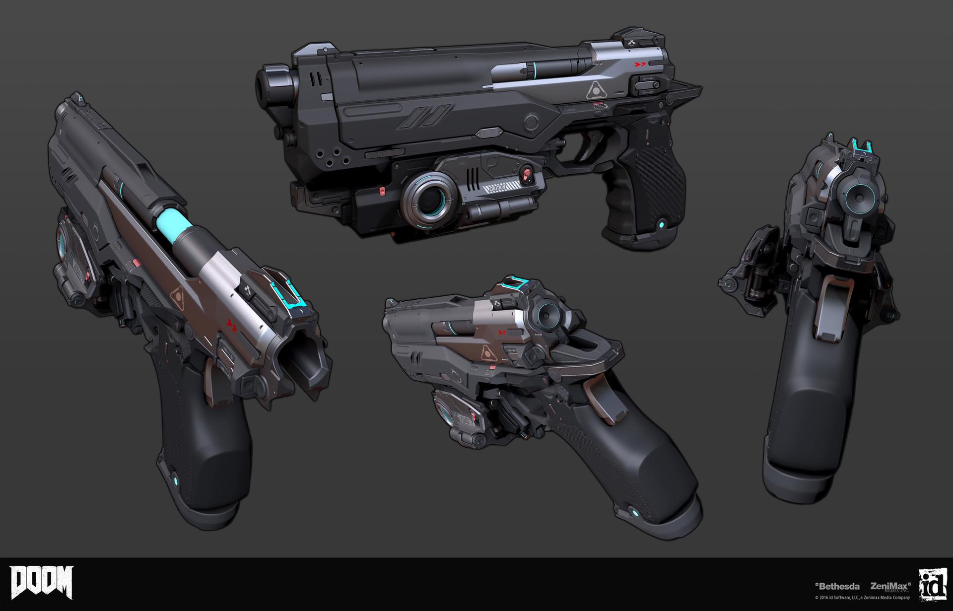 Как создавались пушки для Doom - 5