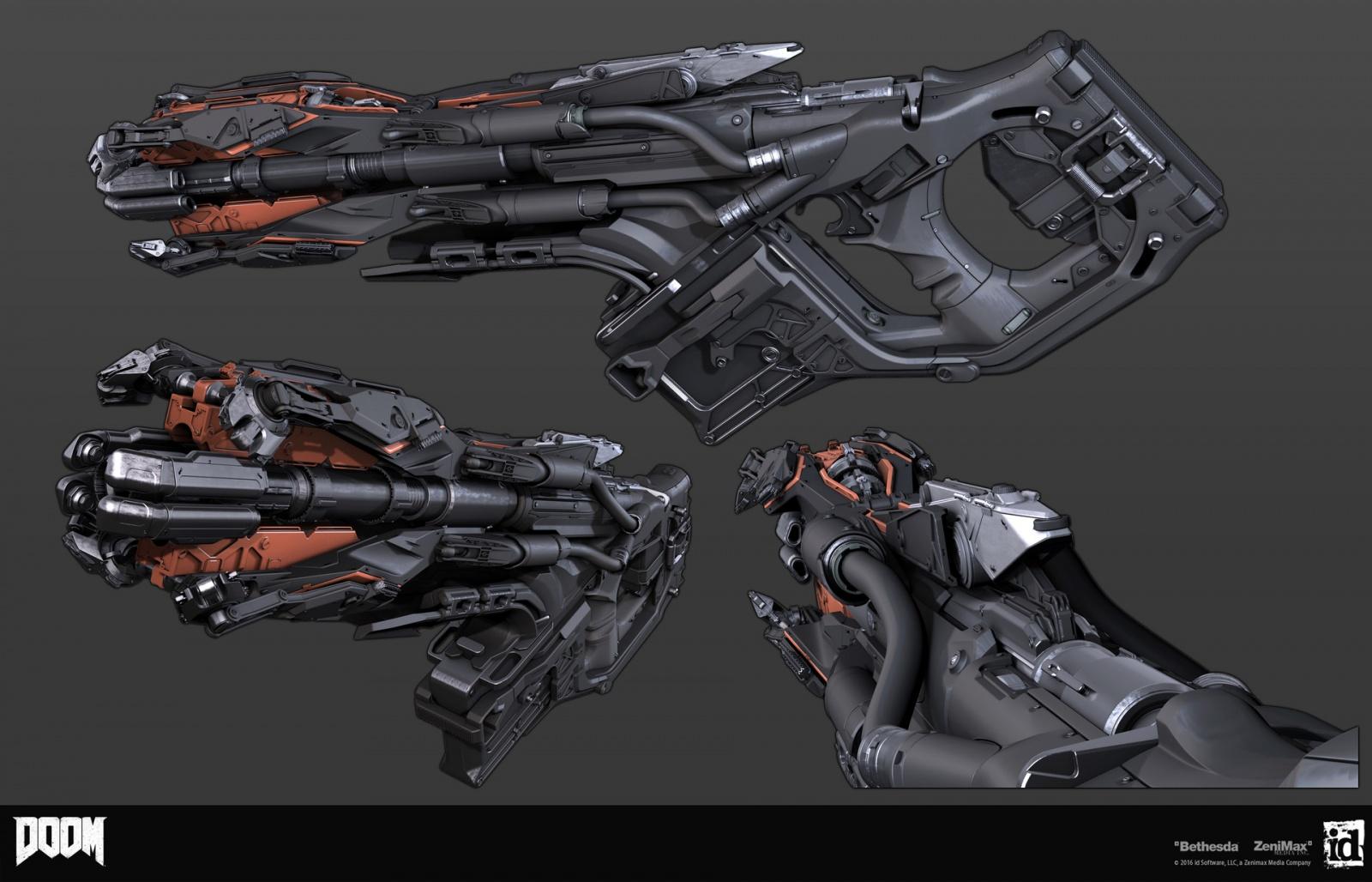 Как создавались пушки для Doom - 1