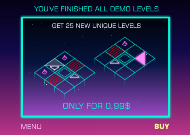 Игра-головоломка Neo Angle. Продолжение истории разработки и релиз в Appstore - 2
