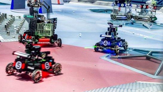 Китайские студенты победили в международном бою роботов