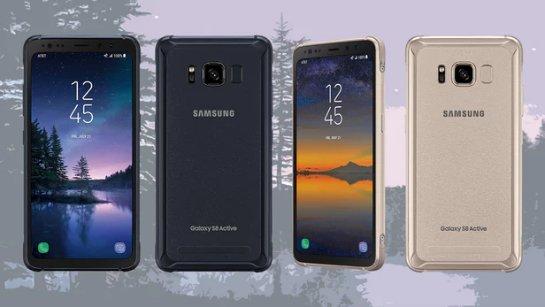 Новый Galaxy S8 Active: Samsung добавляет прочный ободок к своим флагманским телефонам