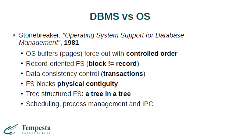 Linux Kernel Extension for Databases - 15
