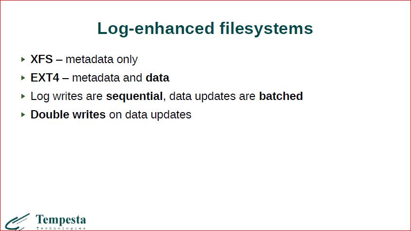 Linux Kernel Extension for Databases - 20