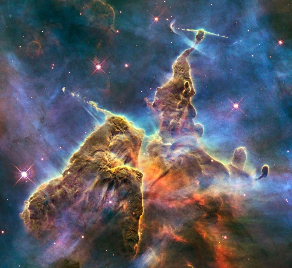 Генерация Галактики и обучение начальным знаниям астрономии - 1