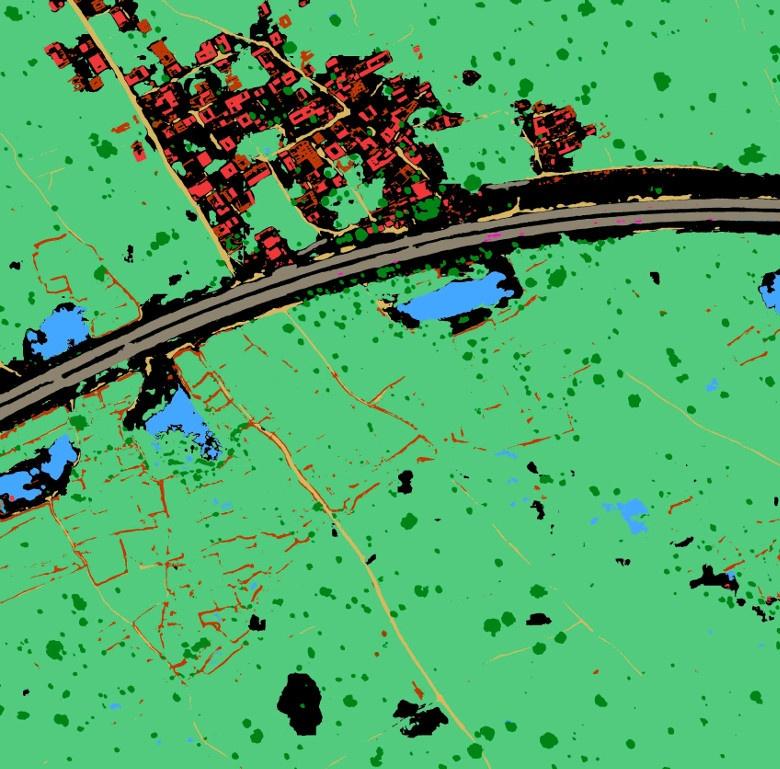 Как программно разметить спутниковую фотографию? Решение задачи Dstl Satellite Imagery Feature Detection - 14