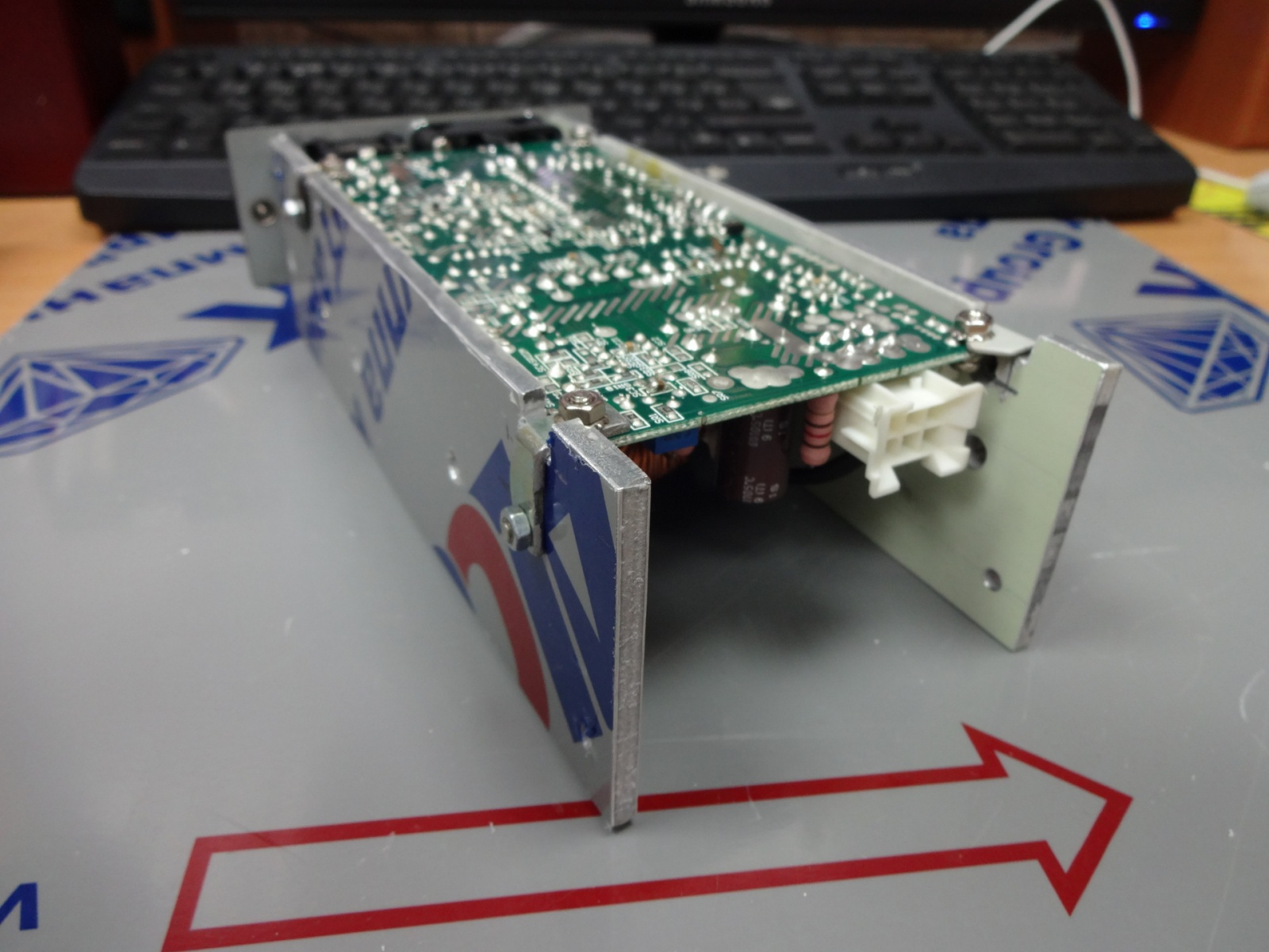 Ремонт импульсного блока питания PRN150M-6 (EM9005 PS-AC) - 7