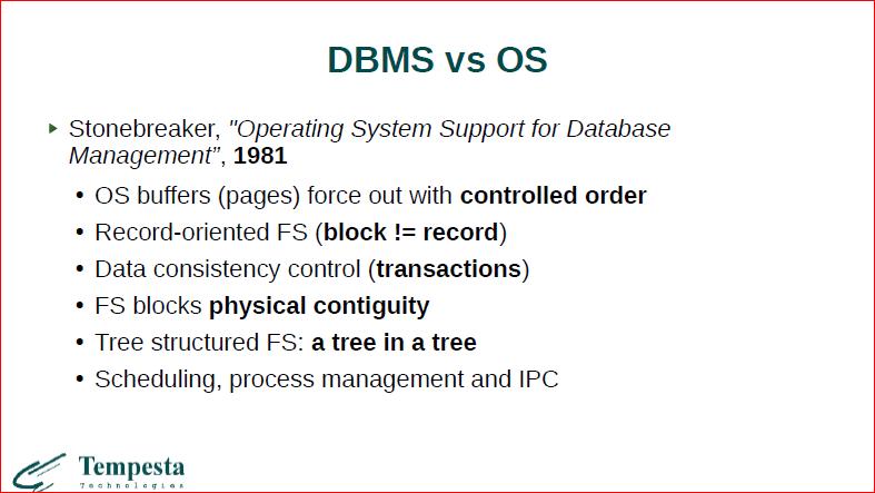 Что происходит на стыке базы данных и операционной системы? - 14