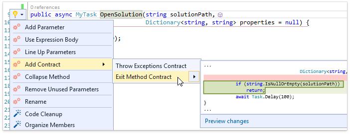 О поддержке языковых фич C# в Visual Studio и в CodeRush for Roslyn - 2