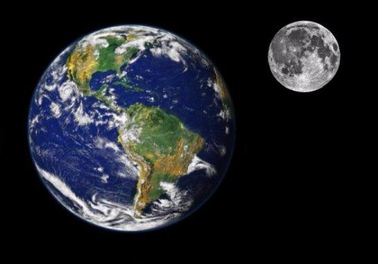 Ученые заявили, что в древности Луна была идентична Земле