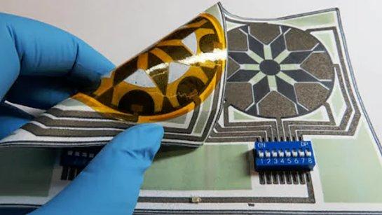 Вынайдена бумажная батарея, которая подпитывается бактериями