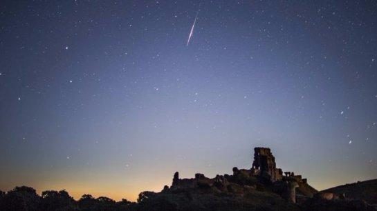 Метеоритный дождь Персеиды достигнет пика в выходные дни