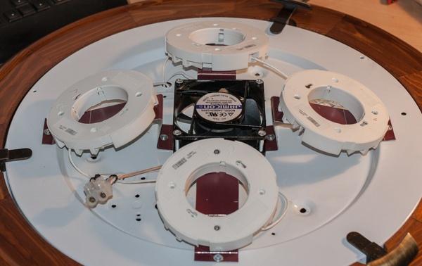 Модернизация «тарелки» под лампы GX70 - 11