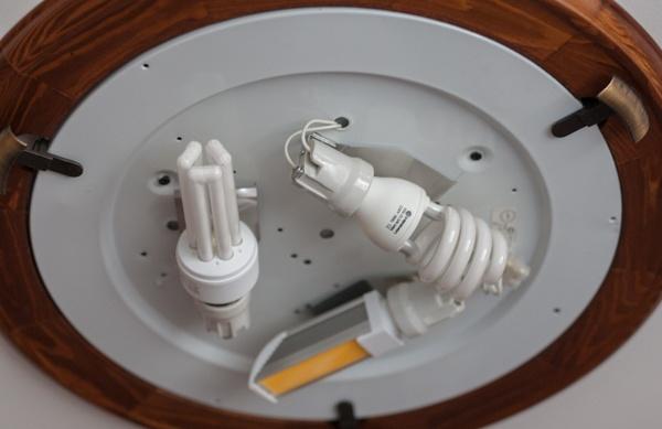 Модернизация «тарелки» под лампы GX70 - 8